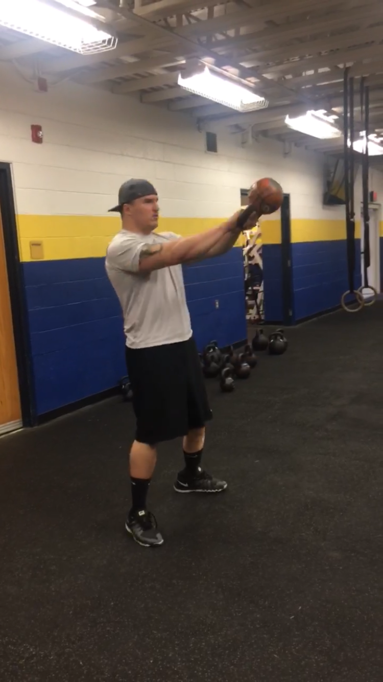 Perfecting the Kettlebell Swing