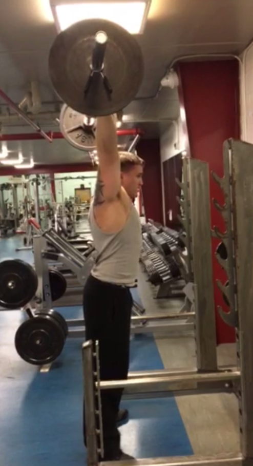 Incline Bench Press VS Barbell Strict Press for Football Players