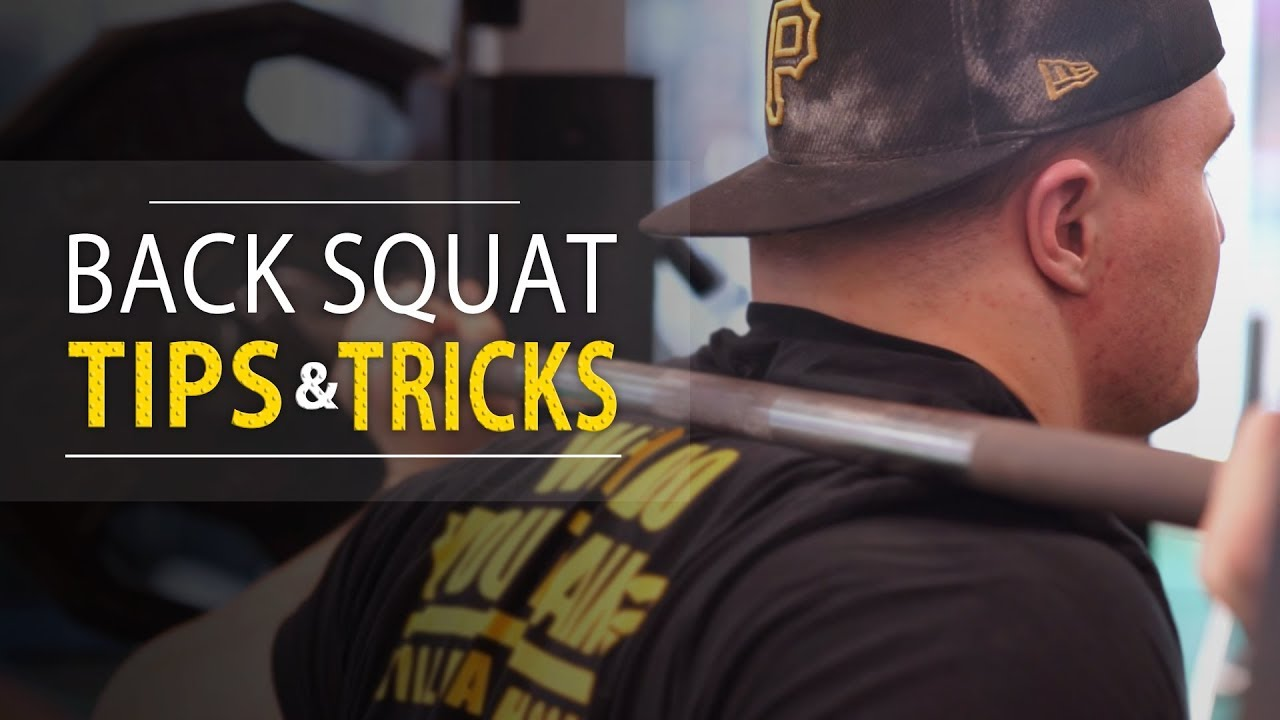 Back Squat Tips & Tricks YouTube Video