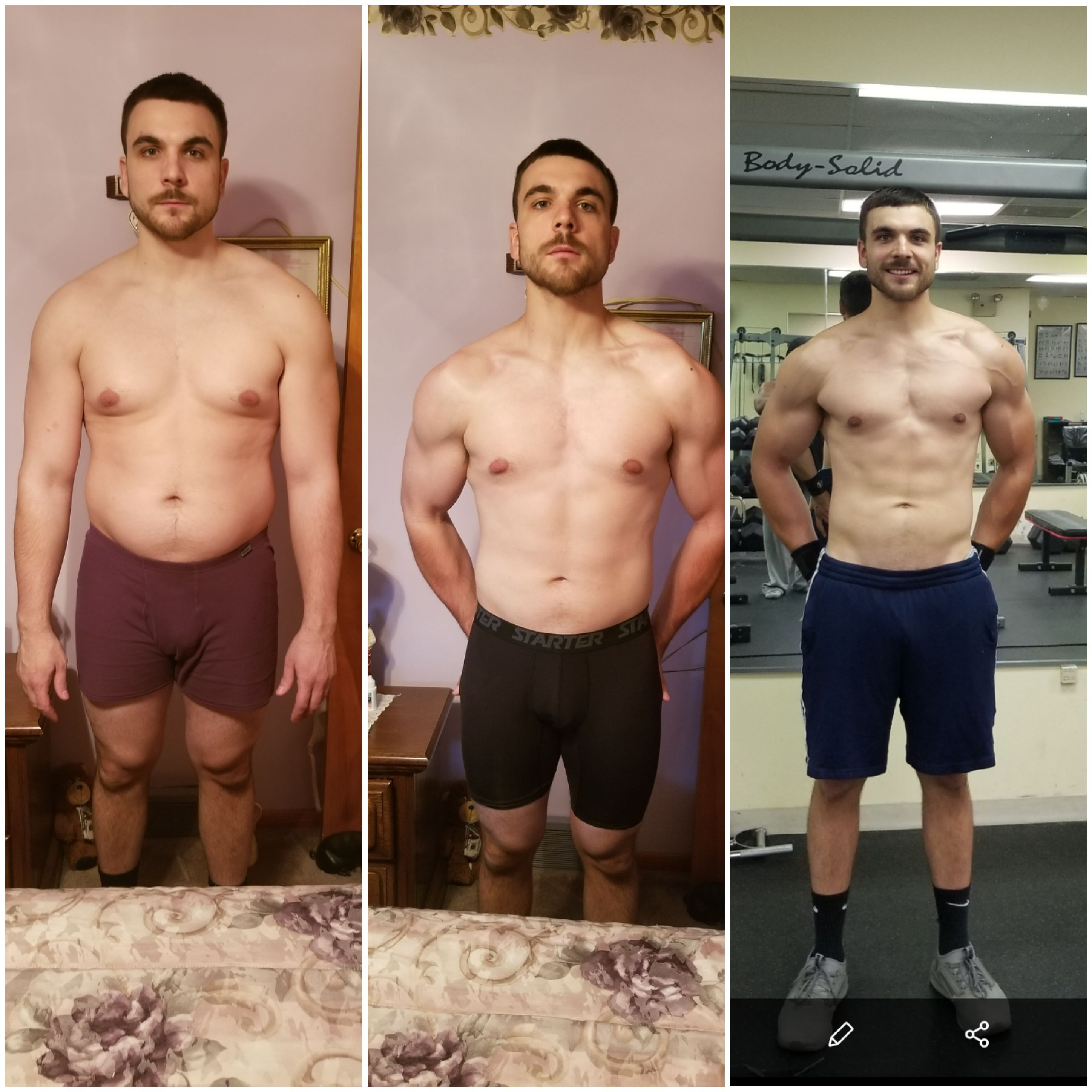 Andrew Stojan: Before and After