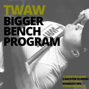 Bigger Bench Program